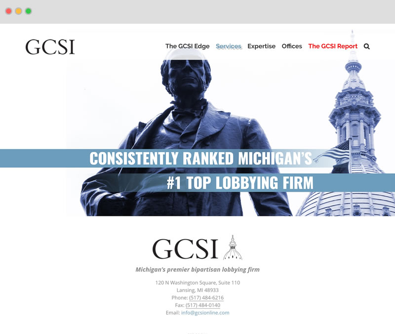 GCSI Screenshot