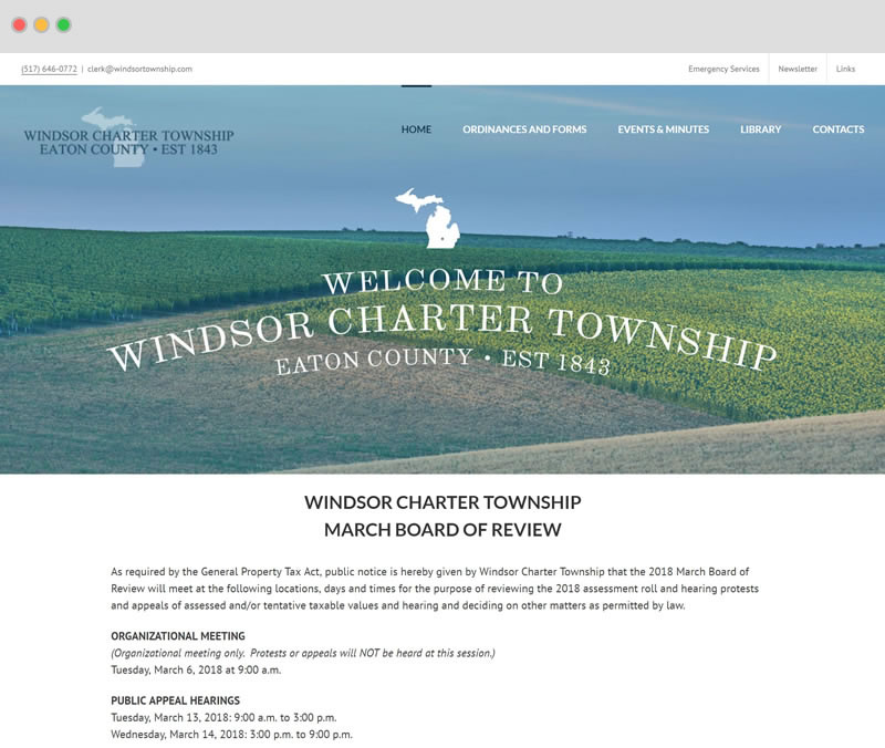Windsor Township Screenshot