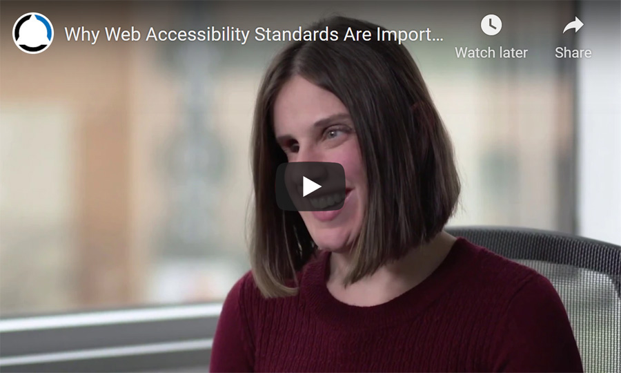 YouTube Video Link - Why Accessibility Standards Are Important For All Users